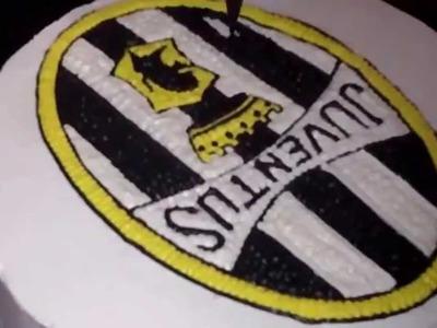 How to Decorate Easy Juventus Logo Cake