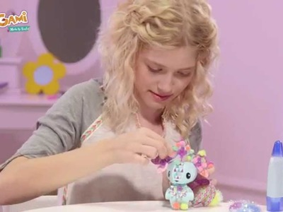 How to Decorate with Poms Poms - AmiGami™ Polar Bear | Inspiration Video  | AmiGami™
