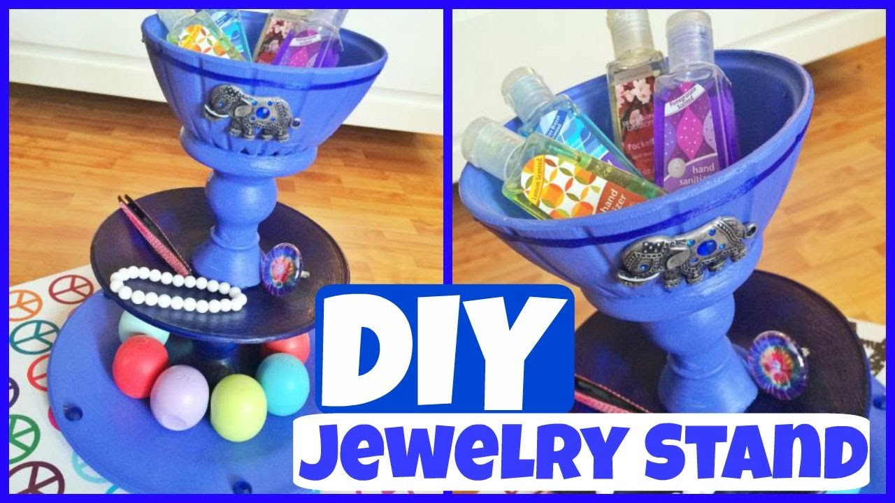How To - DIY: Jewelry Stand! CHEAP + EASY!