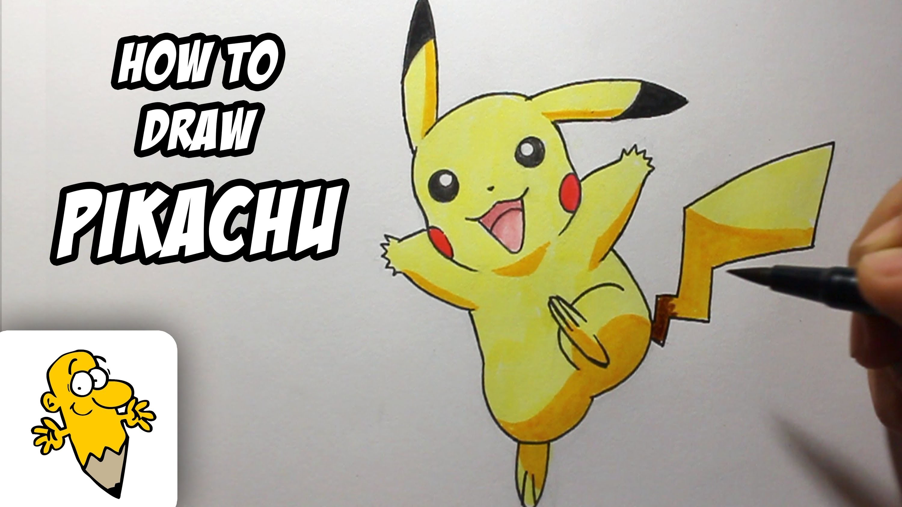 How to draw Pikachu [Pokemon] Drawing Tutorial