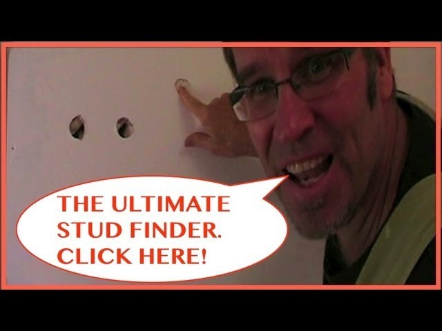 How to Find a Stud in a Wall. THE ULTIMATE STUD FINDER!