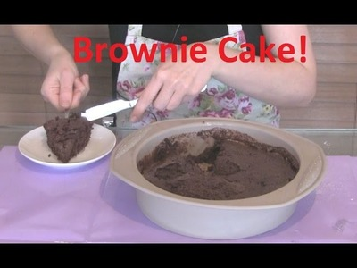 How to Make a Brownie cake in the Microwave