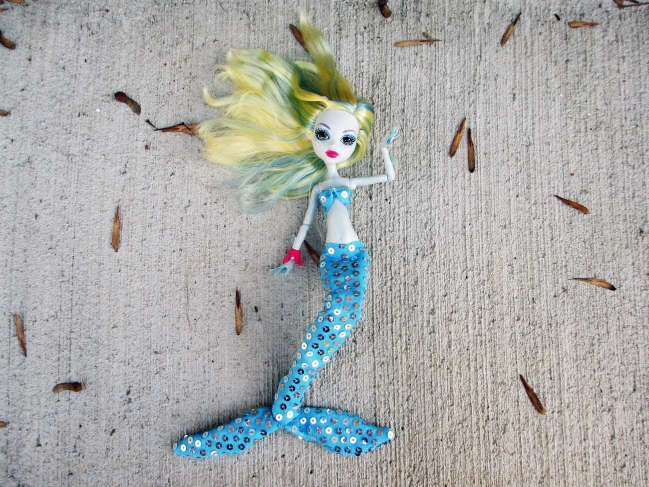How to make a Mermaid Tail