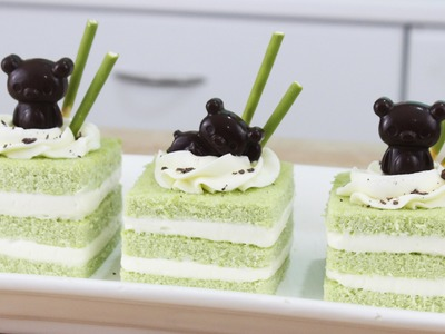 How to Make Rilakkuma Matcha Cakes!