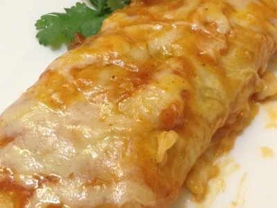 How To Prepare Easy Enchiladas with Flour Tortillas - DIY Food & Drinks Tutorial - Guidecentral