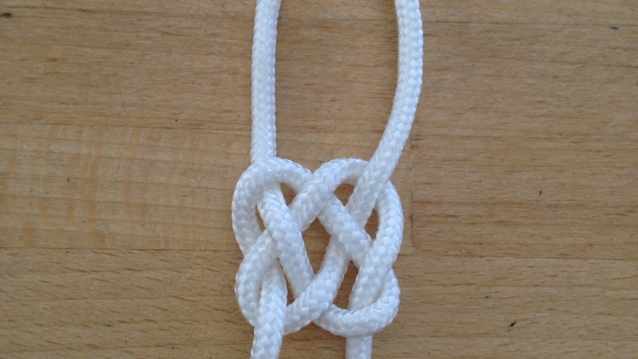 How To Tie A Celtic Square Knot - DIY  Tutorial - Guidecentral