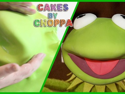 Kermit The Frog Cake | The Muppets (How To) Feat: TheRyanLamont