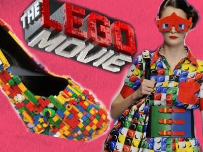 LEGO Movie Inspired Fashion - Nail Art, DIY, and Color Blocking!