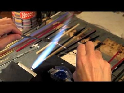Making a Gaia and Ivory Scroll Bead