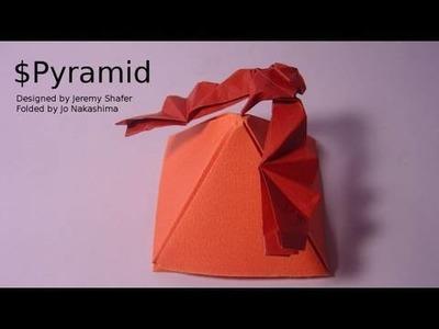 Origami $ Pyramid (Jeremy Shafer)