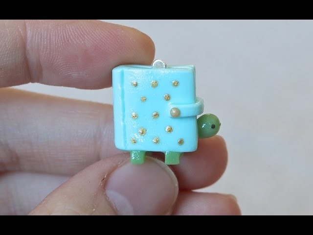 Planner Turtle Polymer Clay Tutorial