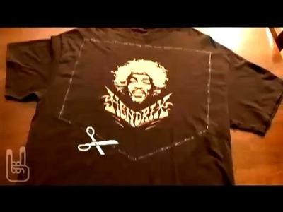 Quickie, How-To Refashion Old T-shirts, Threadbanger