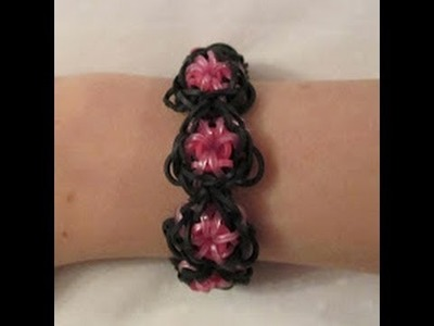 Rainbow Loom-  How to make a Goddess Bracelet (Original Pattern)
