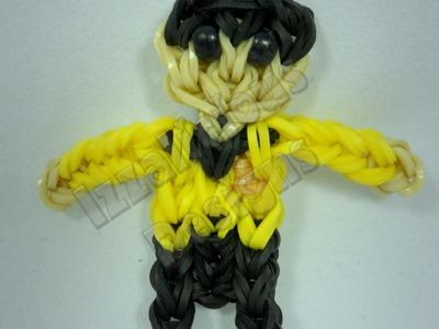 Rainbow Loom Mr Sulu - Star Trek Action Figure.Charm - Gomitas