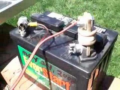 Simple Solar Update - Inexpensive Lead-Acid Battery