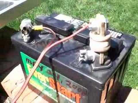 Simple Solar Update - Inexpensive Lead-Acid Battery