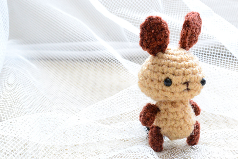 Tiny Amigurumi Bunny plush (Etsy Store)