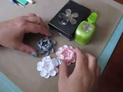 Tutorial ~ 5 Petal Paper Flower  As Requested