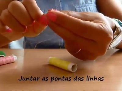 Tutorial - Colar com Pendentes - DIY - Tassel Necklace