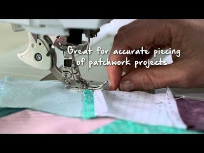 Tutorial on the BERNINA 740 and 770 QE: Sewing with Dual Feed