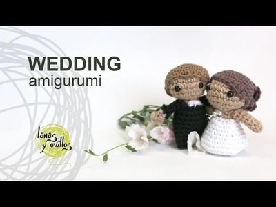 Tutorial Wedding Amigurumi Crochet in English