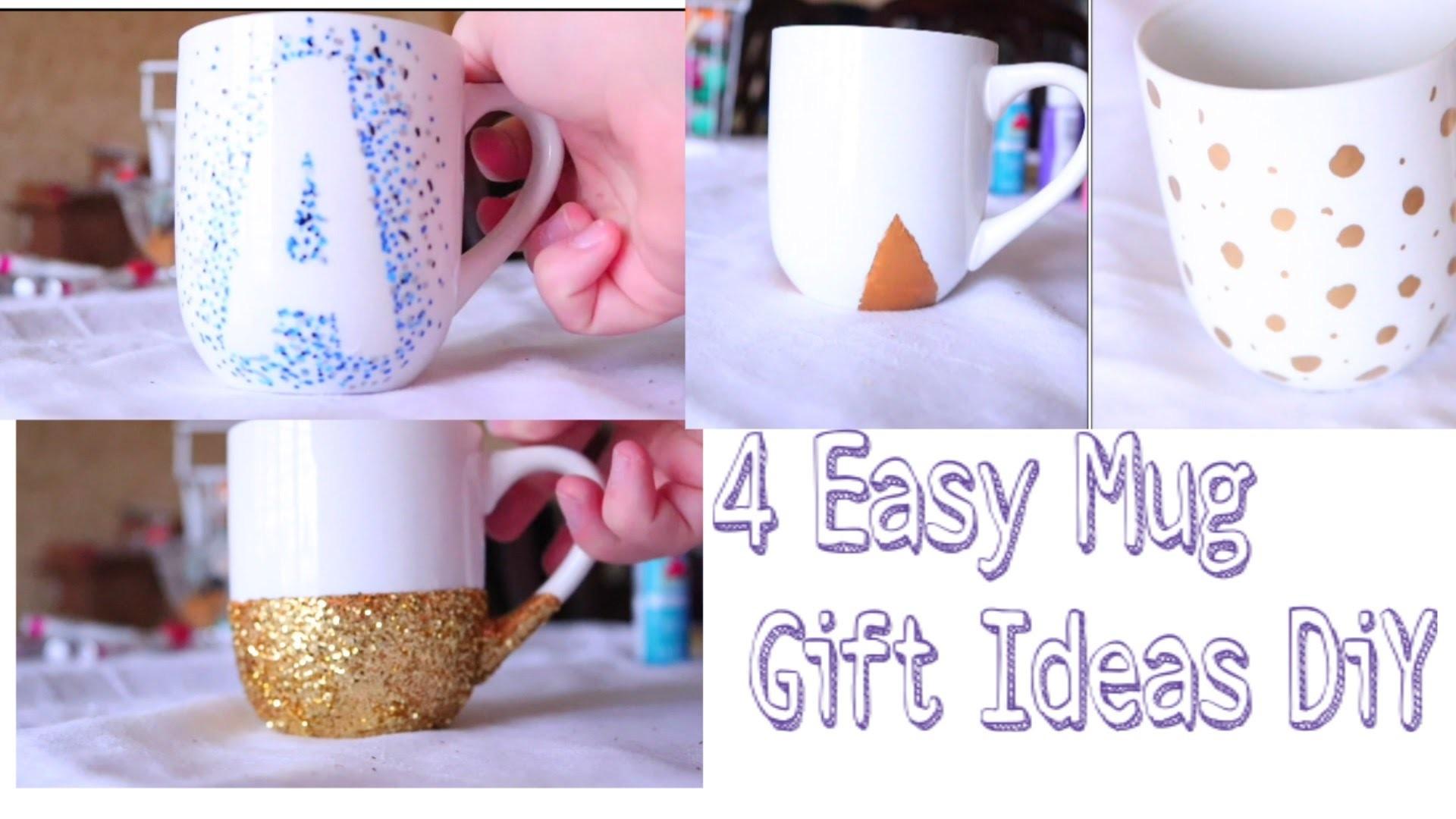 4 Easy Mug Gift Ideas - DiY