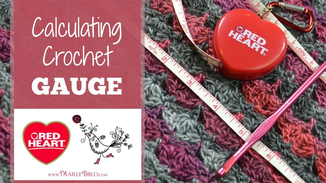 Calculating Crochet Gauge