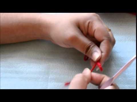 Crochet Basics: knot and chain stitch in malayalam