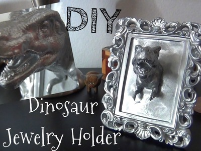 Dinosaur Accessory Holder ♥ DIY Gifts