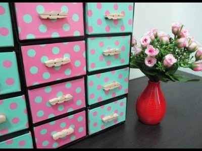 DIY : #104 Organizer From RECYCLED Drink Cartons ♥