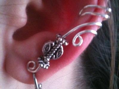 DIY a little more advanced ear cuff