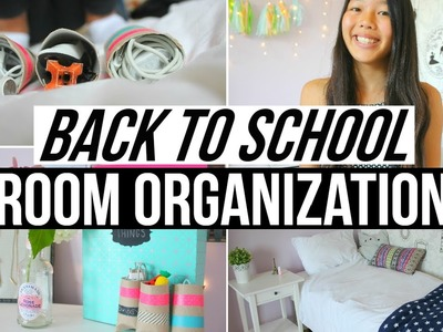 DIY Back To School Room Organization + Decor