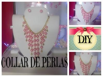 DIY COLLAR DE PERLAS FACIL
