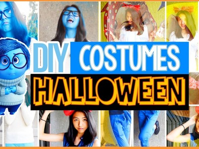 DIY Easy Last Minute Halloween Costumes for Teenagers! Cute & Cheap | AlohaKatieX