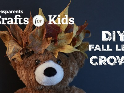 DIY Fall Leaf Crown | Crafts for Kids| PBS Parents