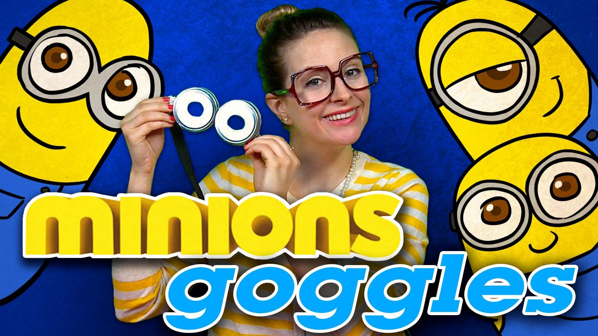 DIY Minions Goggles - Minions Crafts | Cool School Crafts with Crafty Carol