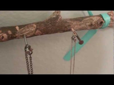 DIY Necklace Branch