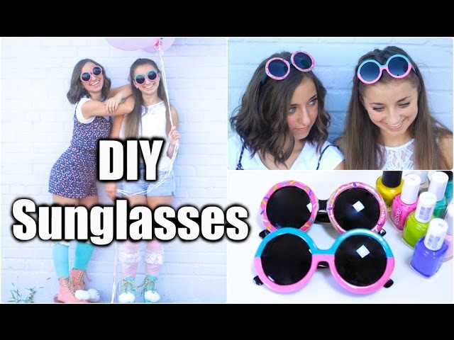DIY Sunglasses Decor | Donuts and 2-Tone Styles