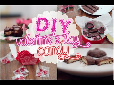 DIY Valentine's Day Candy! ♡ How To Make Your Own Candy Bars, Gummies and More!