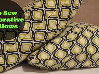 Do-It-Yo'Self | No Sew Decorative Pillows!! (Super Easy!)