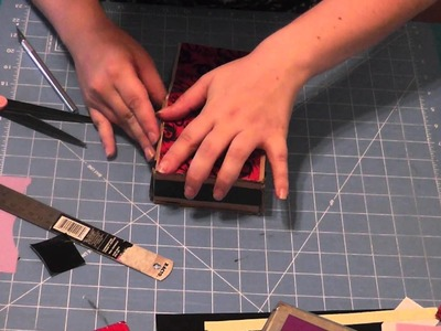 Duct Tape Deck Box with Dice Holder Tutorial