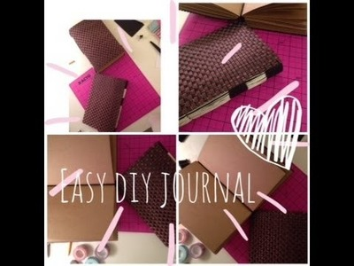 Easy DIY journal and Giveaway!! (Closed)