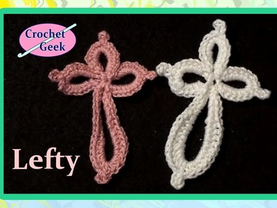 Eternity Cross Crochet Geek Left Hand Version CrochetGeek Crochet Geek