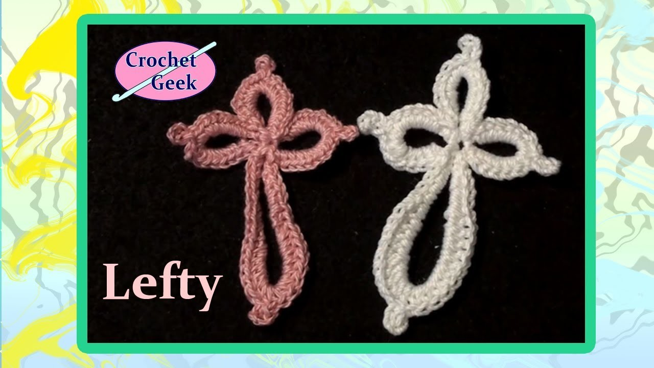 Eternity Cross Crochet Geek Left Hand Version CrochetGeek Crochet Geek