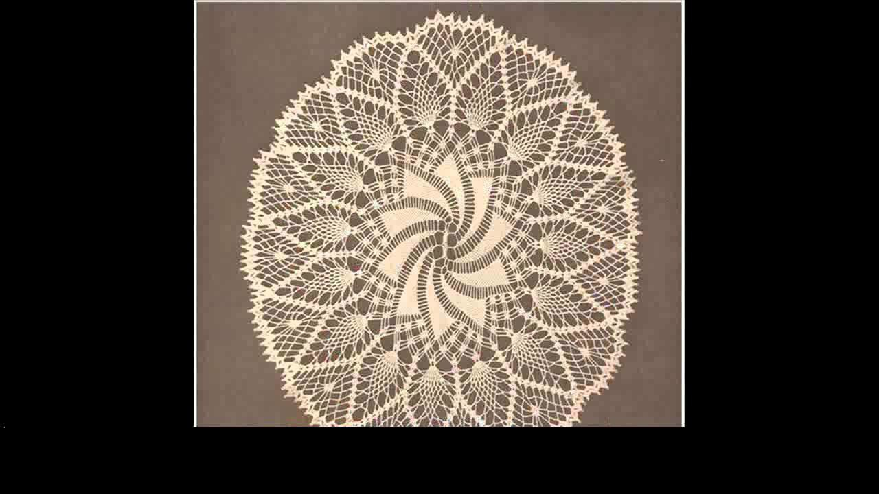 Free crochet doilies project