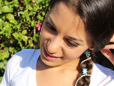 Frozen Princess Elsa Hair Pins ♥ DIY