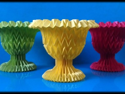 Goblet Paper Folding - Origami Tessellation