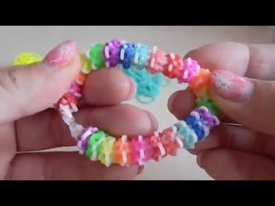 Gumdrop Bracelet Rainbow Loom Band Deutsch DIY -  HD