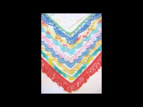 How to crochet a ruffle border