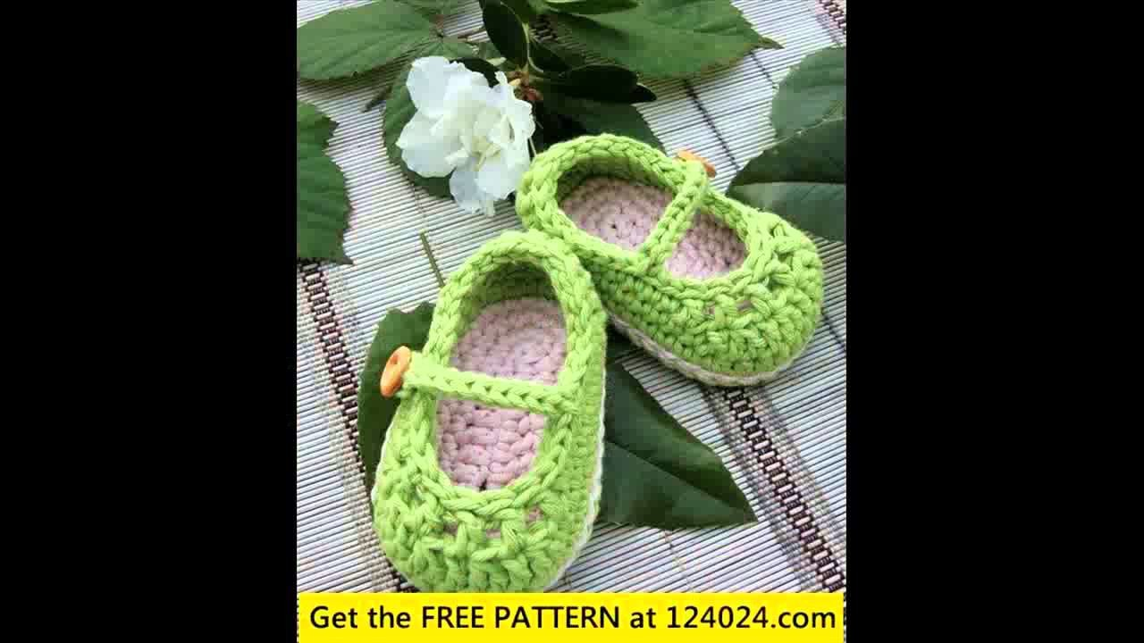How to crochet baby sandals by sabrina